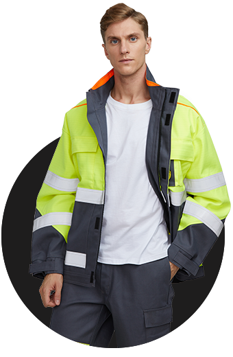 Fire resistant reflective clothing fireproof clothes
