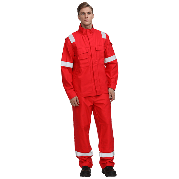 Fireproof Electric Arc Protective Work Suit