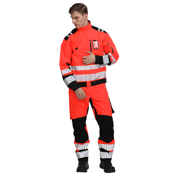 Reflective safety workwear Uniform