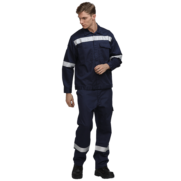 100% Cotton Safety Workwear Suit