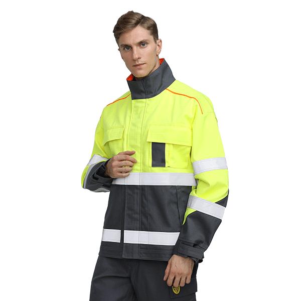 EN 11611 Fire Resistant Safety Welder Jacket