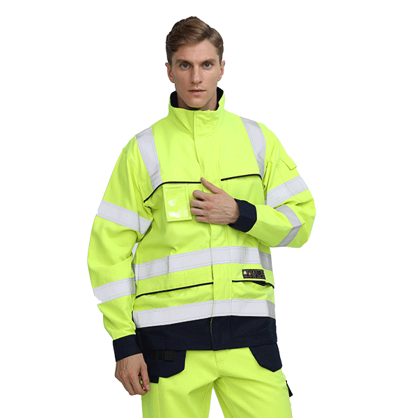Construction Fireproof Workwear Jackets