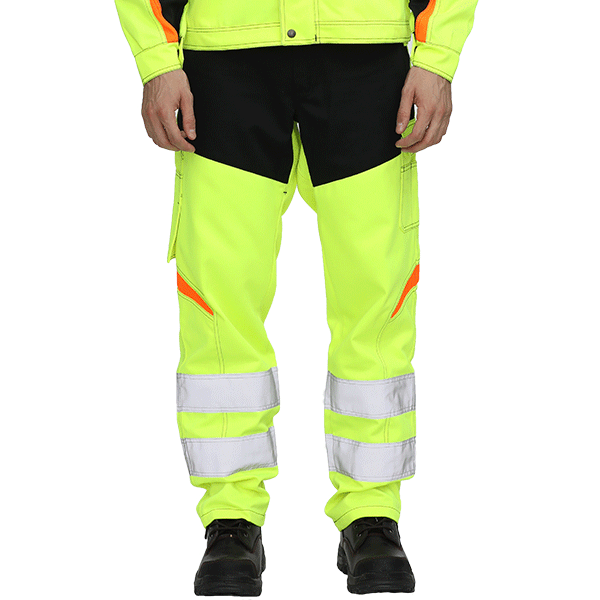 Hi Vis Safety Working Trousers