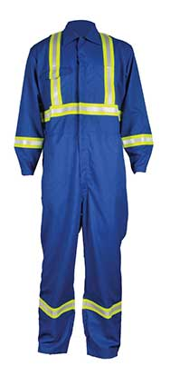 FR work coveralls and overalls