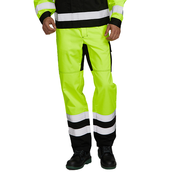 Flame Retardant Reflective Tape Work Pants