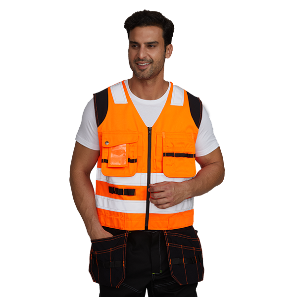 Flame Retardant Reflective Safety Jacket