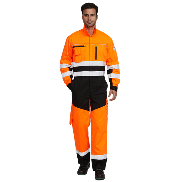275gsm FR Mechanic Coverall Suit