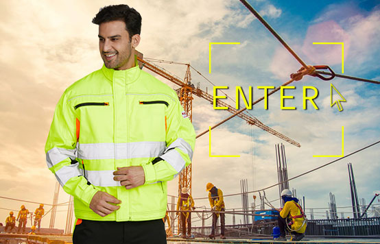 high visibility safety mechanic construction uniforms clothing
